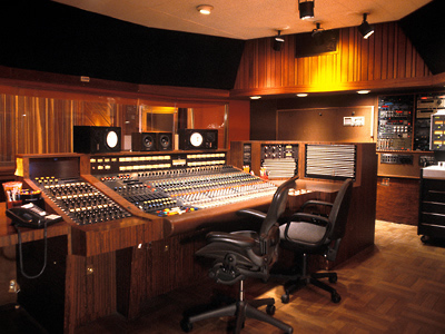 Le Sunset Sound, studio d'enregistrement à Hollywood, Los Angeles USA